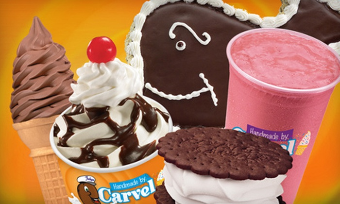 Carvel - New Carrollton: Ice-Cream Treats or Cake at Carvel in New Carrollton. Two Options Available.
