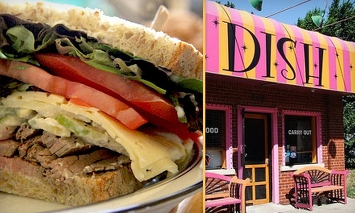 Dish - Grosse Pointe: $10 for $20 Worth of Carryout Sandwiches and More at Dish