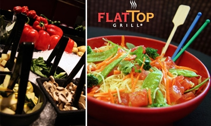 Flat Top Grill Milwaukee - Wauwatosa: $10 for $20 Worth of Stir-Fry and More at Flat Top Grill