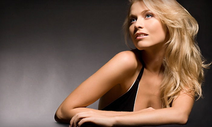 A Cut Above  - Arden Heights: Haircut Package with Conditioning or Moroccan Oil Treatment, Half Highlights, or Full Highlights at A Cut Above in Staten Island (Up to 72% Off)