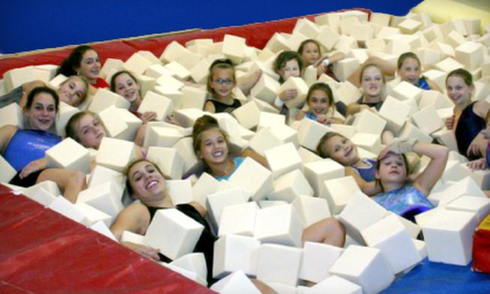 Gymstars Gymnastics - Gymstars Gymnastics: Two, Four, or Six Gymnastics Classes at Gymstars Gymnastics in Collierville (Up to 72% Off)