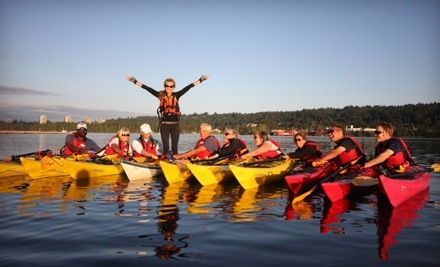 $40 Groupon to Rocky Point Kayak - Rocky Point Kayak in Port Moody