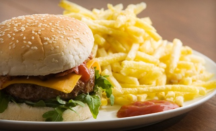 Burger Meal for Two (a $31 value) - Artful Dodger Pub in Langley