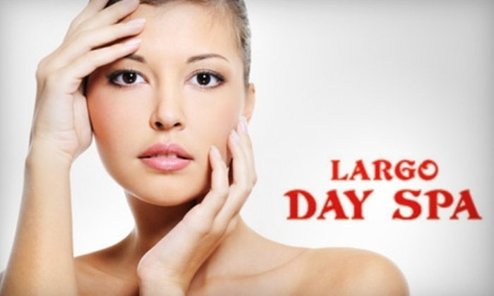 Largo Day Spa - Largo: $30 for Your Choice of a 60-Minute Deluxe Facial, a 60-Minute Relaxation Massage, or a 90-Minute Spa Pedicure and Paraffin Treatment (Up to $70 Value) at Largo Day Spa in Largo