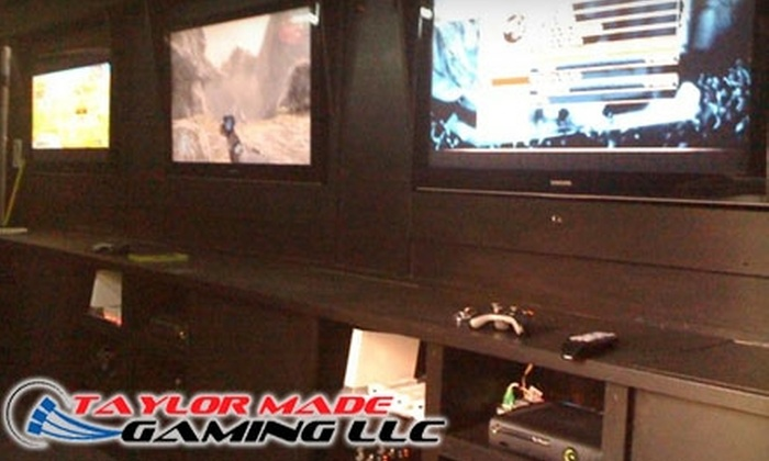 Taylor Made Gaming - Montgomery: $10 for Up to Four Hours of Gaming ($20 Value) or $100 for Private Video Game Party Trailer ($200 Value) or at Taylor Made Gaming