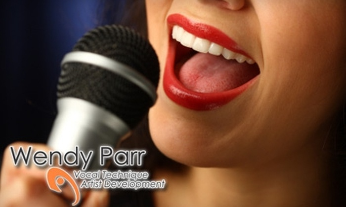 Wendy Parr Vocal Studios - New York City: $50 for a Three-Hour Vocal Workshop from Wendy Parr Vocal Studios ($115 Value). Choose from Two Dates.