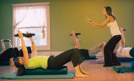 3 Yoga or Pilates Mat Classes (a $42 value) - Push Pilates in Memphis