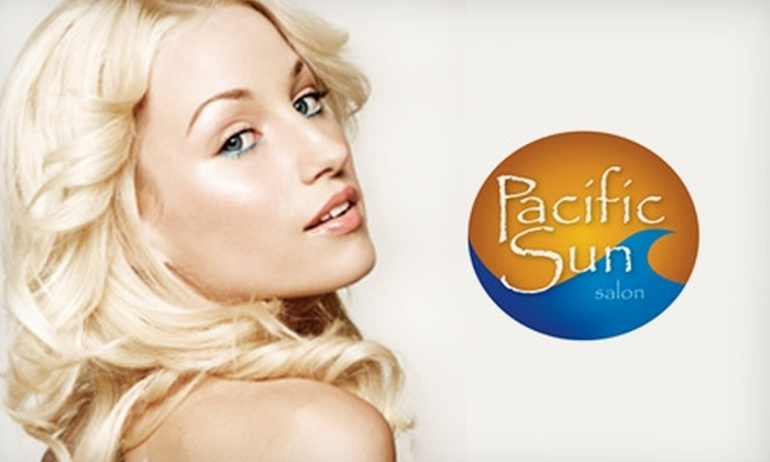 Pacific Sun Salon - Great Bridges: $99 for a Brazilian Keratin Smoothing Consultation and Treatment at Pacific Sun Salon (Up to $300 Value)