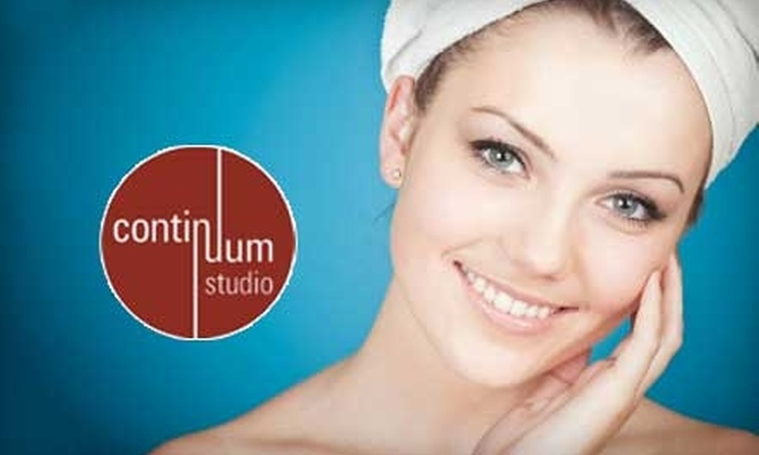 Continuum Studio - Edgewater: $57 for a One-Hour Signature Facial and Multivitamin Hand Treatment at Continuum Studio ($115 Value)