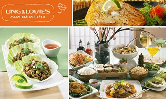 Ling and Louie's - LoDo: $9 for $20 Worth of American-Asian Fusion Cuisine at Ling and Louie's