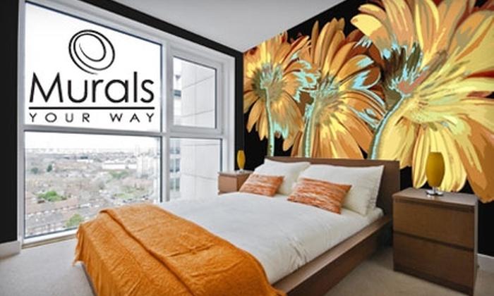Murals Your Way: $65 for $150 Toward Murals from Murals Your Way