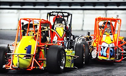 The Coffee Cup: Indoor Auto Racing on Sat., March 10 at 7PM or Sun., March 11 at 2PM: Section 103-5, 107-8, 122-23 - The Coffee Cup: Indoor Auto Racing in Providence