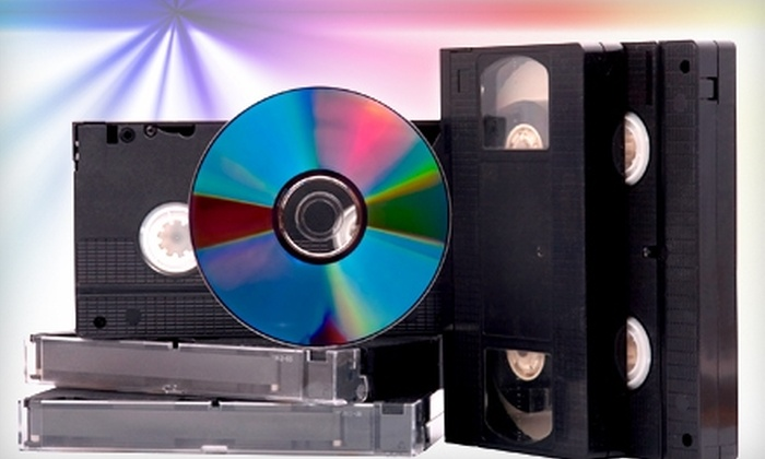 Just Your Image - Fairview: $15 for One VHS-to-DVD Transfer from Just Your Image in Fairview ($30 Value)