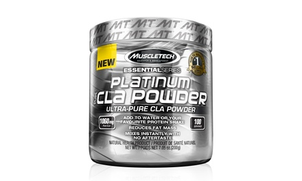 100 Servings of MuscleTech Platinum 100% Pure CLA Powder