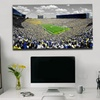 """40""""x22"""" Touch of Color NCAA College Football Stadium Photo on Canvas"""
