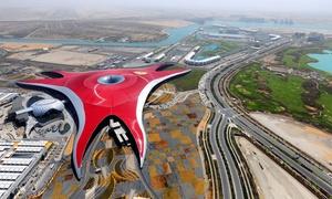Baisan Travel LLC: Abu Dhabi City Tour with a Ticket to Ferrari World Park with Baisan Travel (50% Off)