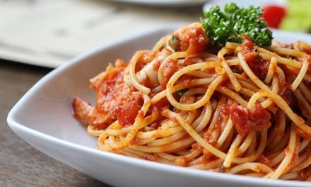 2-Gänge-Pasta-Menü nach Wahl für zwei oder vier Personen im Restaurant Satt und Selig (bis zu 58% sparen*)