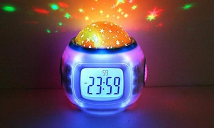 Digital Star Projection Clock: Digital Star Projection Clock