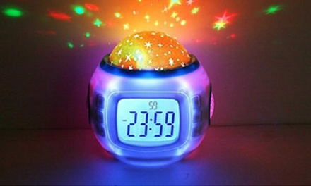 Digital Star Projection Clock