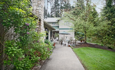 Groupon Deal: Two-Night Stay with French Cooking Class and One Breakfast at L'Auberge at The Edge of Seattle in Greater Seattle