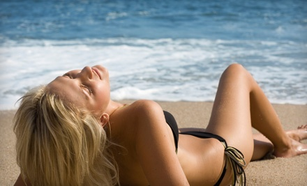 3 Customized Spray Tans (a $165 value) - Pacific Tanning in Selden
