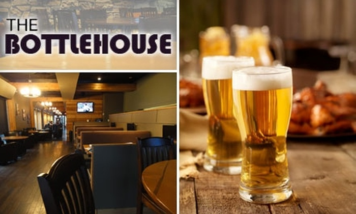 The BottleHouse Beer Parlour - Sunnyside: $7 for $15 Worth of Upscale Pub Fare and Craft Beer at The BottleHouse Beer Parlour