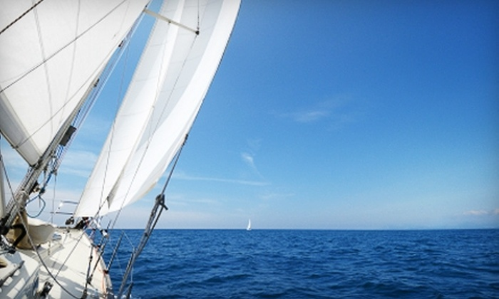 Seabreeze Charter - Central Chicago: $130 for Two Hours of Sailing For Up to Six People from SeaBreeze Charter (Up to $300 Value)