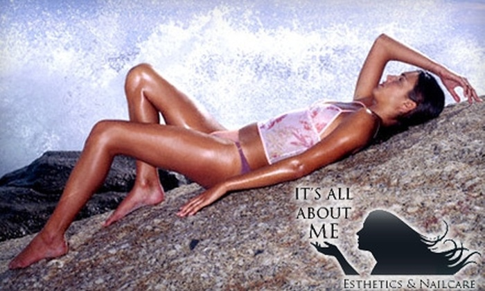 It's All About Me - Central London: $25 For Two Full Body VersaSpa Tanning Packages (up to a $97.18 value) at It's All About Me