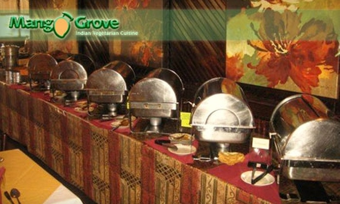 MangoGrove - Columbia: $10 for $20 Worth of Vegetarian Indian Cuisine at MangoGrove Restaurant