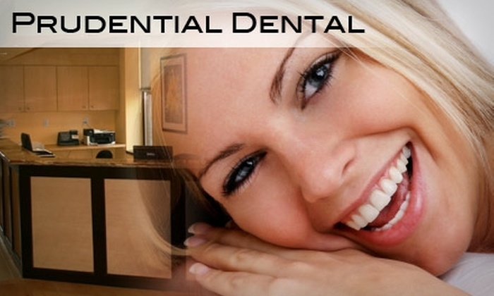 Prudential Dental - Multiple Locations: Up to 90% Off Dental-Care Package at Prudential Dental. Two Options Available.
