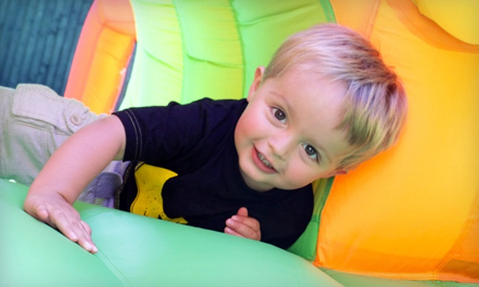 Xtreme Bounce Zone - Haisley: 2.5-Hour Weekday Pizza Party for Up to 30 Kids or Five Open-Jump Sessions at Xtreme Bounce Zone (Up to 51% Off)