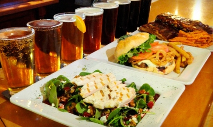 Barley Creek Brewing Company - Pocono: $10 for $20 Worth of Hearty Pub Fare and Pours at Barley Creek Brewing Company
