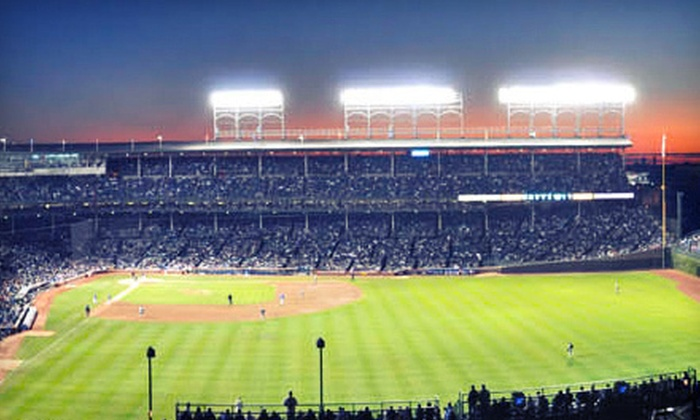 Chicago Cubs - Multiple Locations: Rooftop Ticket to See Chicago Cubs Game at Ivy League Baseball Club or Sheffield Baseball Club (Up to 68% Off)