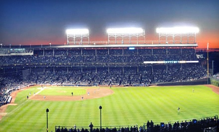 Cubs vs. Nationals at the Ivy League Baseball Club on Sat., April 7 at 12:05PM: Rooftop-Level General Admission - Chicago Cubs in Chicago