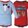 Kidteez Infant Boy's Long-Sleeved Bodysuits