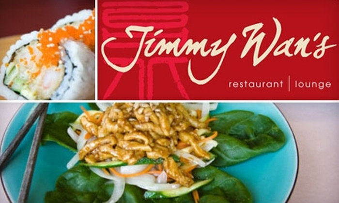 Jimmy Wan's - Multiple Locations: $20 for $40 Worth of Dim Sum, Pan-Asian Cuisine, and Drinks at Jimmy Wan's in Cranberry or Fox Chapel