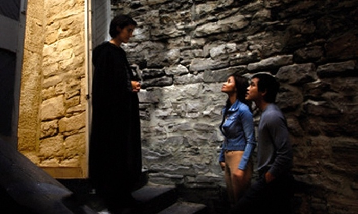 The Haunted Walk - Byward Market - Parliament Hill: Two Tickets to Historical Walking Tour from The Haunted Walk. Two Options Available.