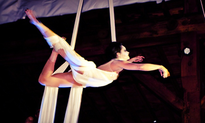Emerald City Trapeze Arts - Industrial District East: $28 for a Two-Hour Beginner Aerial or Silk Class with Registration Fee at Emerald City Trapeze Arts ($56 Value)