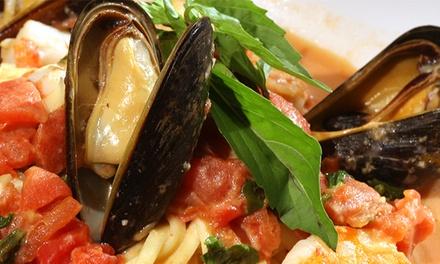Italian Pasta, Pizza, Seafood, and Steak at Loccino Italian Grill & Bar (45% Off)