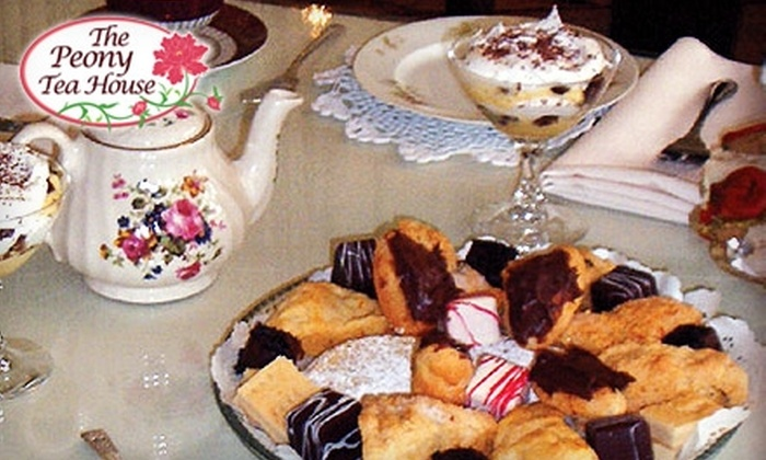 The Peony Tea House - Downtown Fort Wayne: $10 for an Afternoon Queen Victoria Tea Party at The Peony Tea House