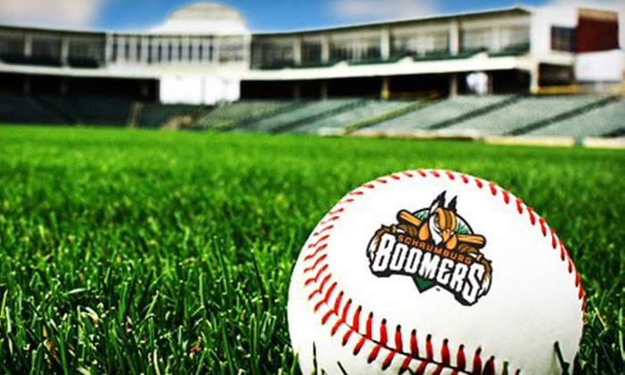 Schaumburg Boomers - Boomers Stadium: $29 for Schaumburg Boomers Baseball Game and Hats for Two ($58.82 Value). Three Games Available.
