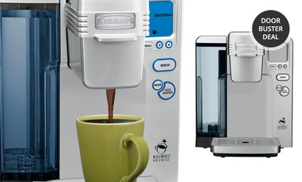 Cuisinart Single-Serve Coffeemaker (SS700) (Factory Refurbished). Free Returns.