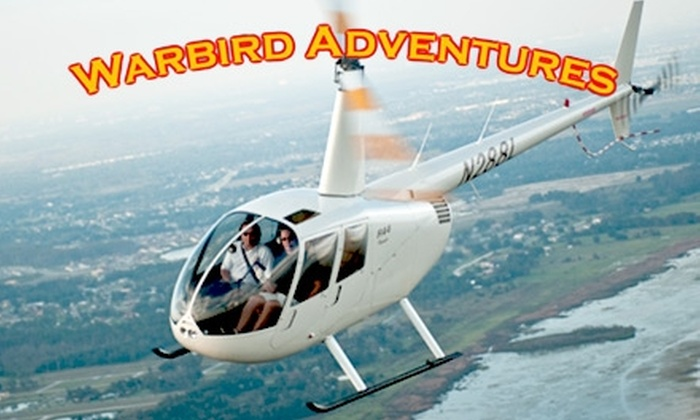 Warbird Adventures - Kissimmee: $79 for a 15-Minute Helicopter Ride, DVD of Your Flight, and Two Tickets to Kissimmee Air Museum from Warbird Adventures ($177 Value)