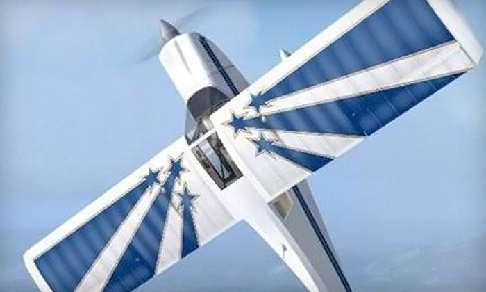 MPK Aerobatics - Carlsbad: $179 for a Discovery Aerobatic Flight from MPK Aerobatics in Carlsbad ($315 Value)