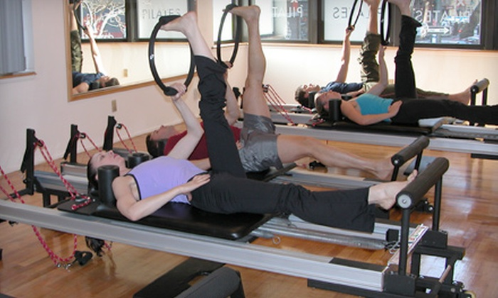 IM=X Pilates Studio NY - Midtown South Central: Three IM=X Pilates Reformer Classes with DVD or Two Private IM=X Pilates Sessions at IM=X Pilates Studio NY (Up to 74% Off)