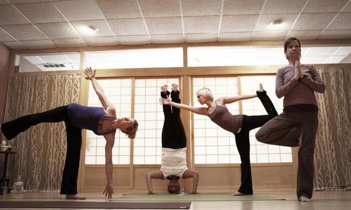 Sun and Moon Yoga - Park Ridge: $35 for Five Yoga Sessions at Sun and Moon Yoga in Park Ridge ($70 Value)