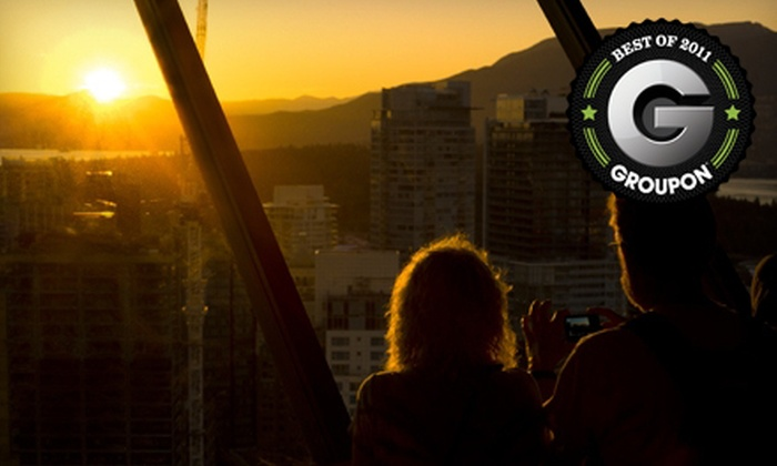 Vancouver Lookout - Downtown Vancouver: Lookout Day for Two Adults or Family, or Lookout Membership for One Adult or Family at Vancouver Lookout (Up to 55% Off)