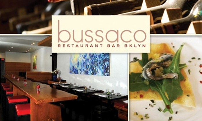 Bussaco - Park Slope: $20 for $40 Worth of Seasonal, Organic Fare and Drinks at Bussaco