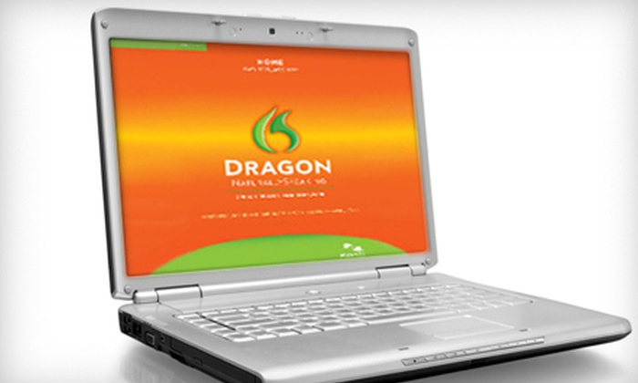 Speech to Text Software: $39 for Dragon NaturallySpeaking Home Edition, Version 11 ($99.99 Value)