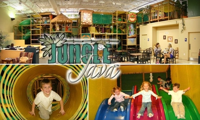 Jungle Java - Multiple Locations: $15 for 5 Daily Passes to Jungle Java ($32.50 Value)